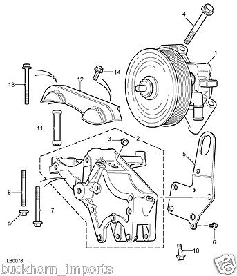 Used Land Rover Discovery Belts Pulleys And Brackets For Sale