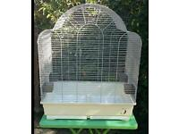 Large bird cage and trolley