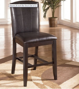Set of very nice bar stools by Ashley Furniture
