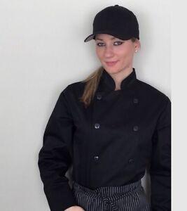 Uniforme de cuisinier, noir , neuf, de uniformes  personnalisés