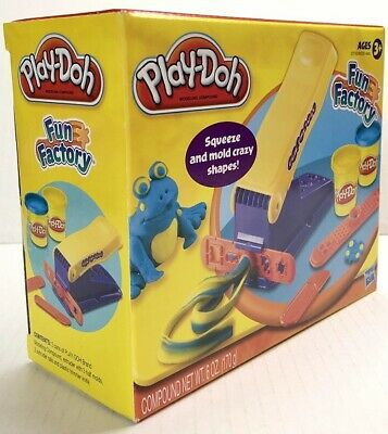 Play-Doh Fun Factory Squeeze & Mold Crazy Shapes Making Machine Kids Fun Create - Play Doh Fun