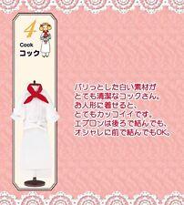 8 Flight Attendant Re-Ment Dollhouse Barbie Blythe Uniform Cloth No