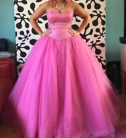 Pink Prom Dress Mori Lee size 10 -12