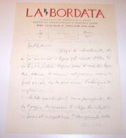 Autografo Lettera Francesco Sapori - La Bordata - 1930 -  - ebay.it