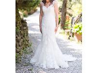 Pronovias marte wedding dress. Size 10-12