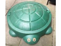 Little tykes turtle sandpit/paddling pool