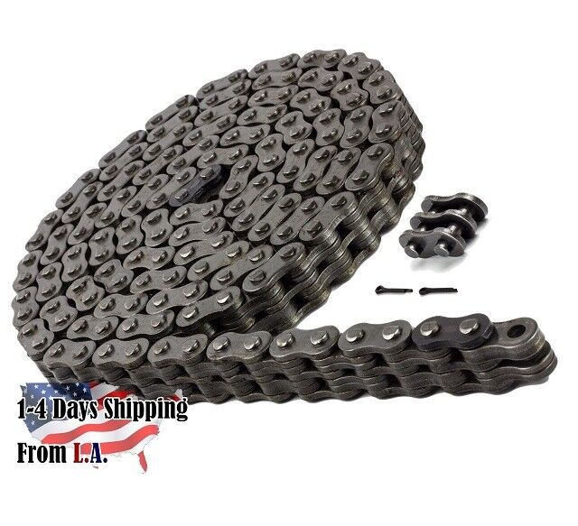 BL646 Leaf Chain 10 Feet For Forklift Masts,Hoisting with 1 Connecting Link