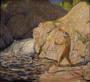 """Limited Edition """"The Fisherman"""" by Tom Thomson"""