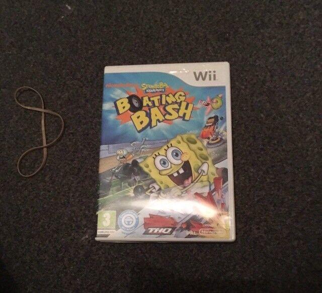Spongebob Wii Game