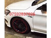 Alloy wheel guard Mercedes CLK CLC SLK SL A45 C63 CLA AMG CDI Kompressor ML G63 GL