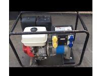 Stephill Honda 5kva Generator 240v 110v