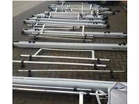 JOBLOT x14 Rhino 3M Pipe Tube Carrier & x16 Roof Rack/Bars RRP2999.99