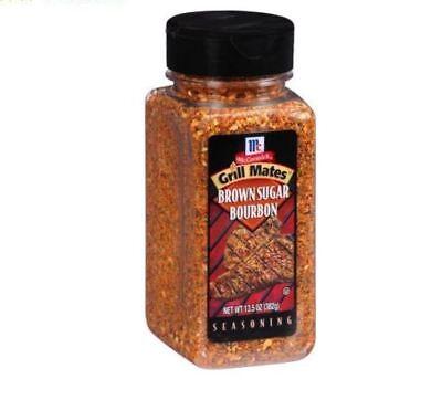 2 PACK McCormick Grill Mates Seasoning Brown Sugar Bourbon LG 13.5oz Spice Kitch