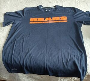 Chicago Bears - Official NFL Nike Dri-Fit Shirt (XL)