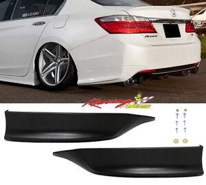 2013-2015 Honda Accord Coupe 4Dr HFP Style Rear Lip Spats