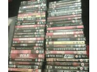 Dvd films job lot of 52
