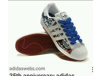 Adidas Ltd edition superstars