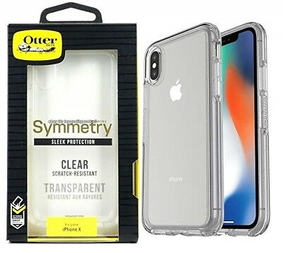 Original Otterbox Symmetry Protection Case for Apple iPhone X iPhone XS - Clear