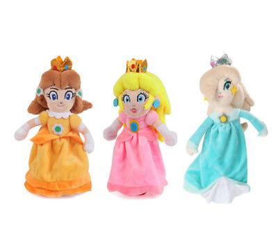 Super Mario Prinzessin Princess Peach Daisy Rosalina Plüsch Plüschtier Puppe Toy