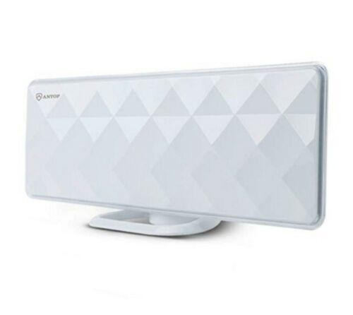 ANTOP AT-201B Flat-Panel Smartpass Amplified Indoor TV Anten