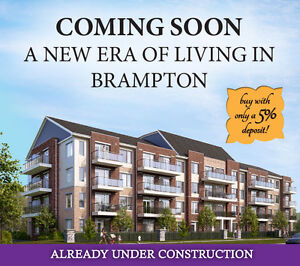 Final opportunity to own condos from $300,000s in Brampton!
