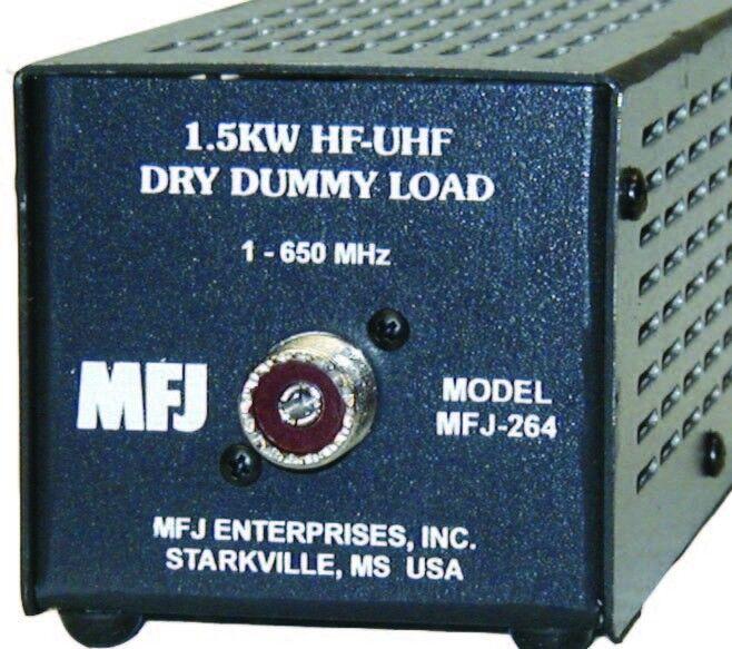 MFJ MFJ264 DUMMY LOAD 0-650MHz 1.5kW