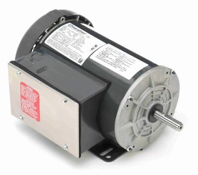 1.5hp 1725rpm 56h Frame 115230v Tefc Marathon Electric Motor Newfree Shipping