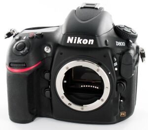 NIKON D800 body with only 24432 clicks