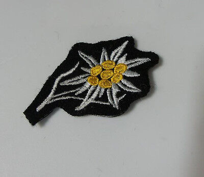 WWI WW2 German Elite Edelweiss patch die cut