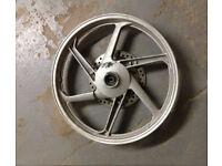 Honda CBR125 front wheel
