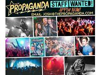 Propaganda Bath - Promotions Staff