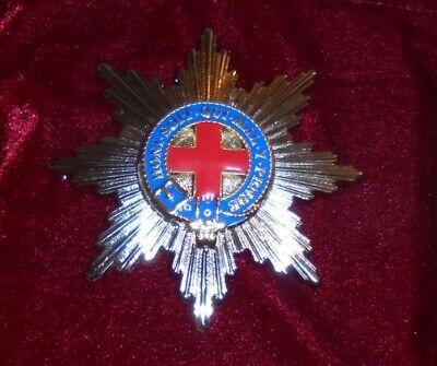UK Royal Knight Knighthood Order Garter Society Star Medal Badge Officer Uniform