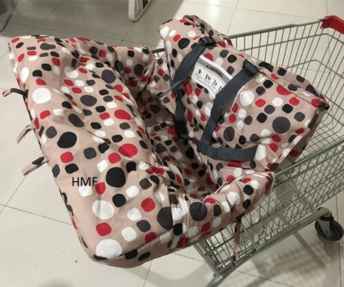 Shopping Cart Cover High Chair Cover 2 in 1 Protection Padded Seat & Washable