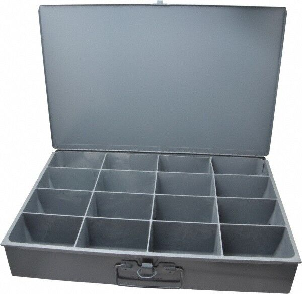 Durham 16 Compartment Small Steel Storage Drawer 18 Inches Wide x 12 Inches Deep
