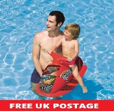 Kids Inflatable Jet Ski Childrens Swimming Pool Beach Ride On 3-6 Years