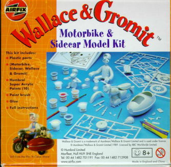 WANTED WALLACE & GROMIT AIRFIX MODEL KITS Liverpool Liverpool Area Preview