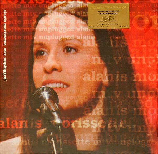Alanis Morissette – MTV Unplugged  Red / Gold   Vinyl  LP