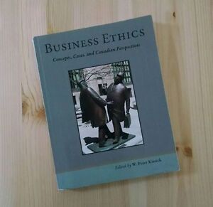 BUSINESS ETHICS. W. Peter Kissick