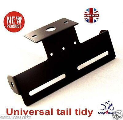 Motorcycle universal tail tidy number plate holder rsend tailtidy TT2