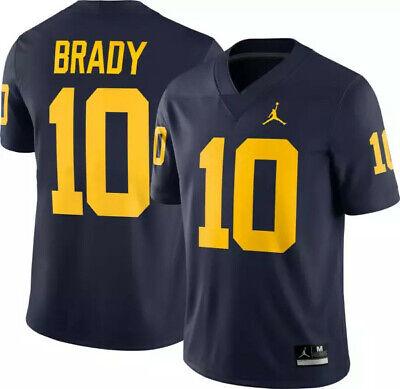BRADY camiseta de la NCAA Michigan color azul.Talla S,M,L,XL,2XL,3XL.
