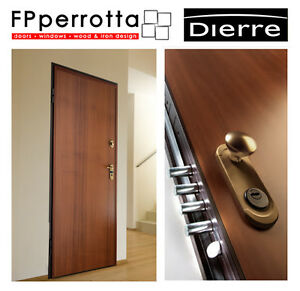 Porta Blindata Sparta 8 Dierre Classe 3 Completa Di Accessori E Rivest Iva Ebay