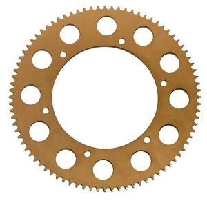 PRODEZINE GOLD GO KART SPROCKET 84t, monaco kartech chain crg mg red talon cz ek