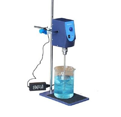 Analog Overhead Stirrer With Stirring Rod And Stand 20l Capacity