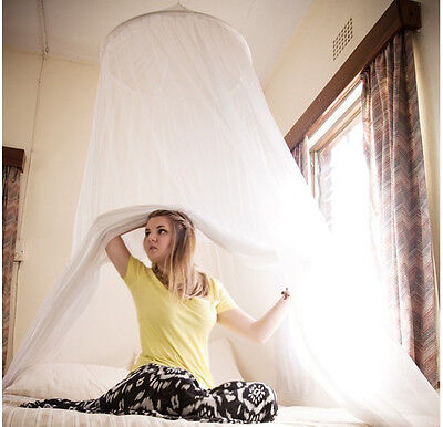 Mosquito dome Net Protection Bed fly insect curtain For Single Double king Size