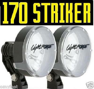 Lightforce Lights (2 LightForce 170 Striker Driving Light Force Fog Snow 100W 170 HT 12v)