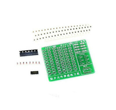 Skill Training Smd Smt Components Practice Board Shield Kit For Diy Ca