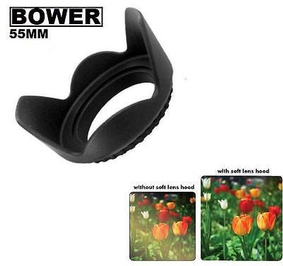 Bower 55mm Tulip Flower Lens Hood for Photo Camera Lens -