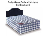 Single, Double and King Size Budget Divan Bed and Mattresses