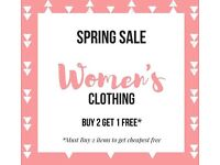 OFFER: Various NEW Women's clothing - Sizes M/L - UK 10-12 and more (price from £1)