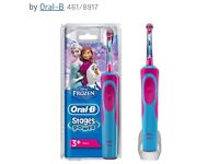 Frozen Oral B electric toothbrush new